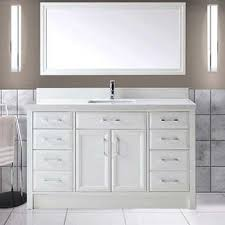 single sink vanity with drawers white vanities costco