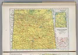 Map Of Saskatchewan Saskatchewan David Rumsey Historical Map Collection