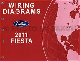 2011 ford fiesta wiring diagram manual original electrical