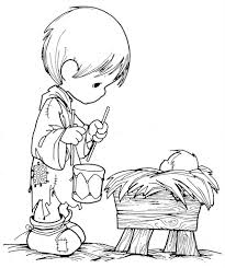 image gallery precious moments nativity coloring pages at best all