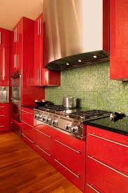 Red Kitchen Countertop - red kitchen ideas design accessories u0026 pictures zillow digs