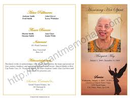 Unique Funeral Programs Funeral Program Example Funeral Program Examples Sandy Single