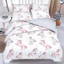 Unicorn Bed Set Unicorn Bedding Duvet Cover Quilt Cover Bedding Set