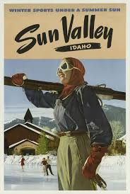 sun valley lodge dining room sun valley poster tourism posters pinterest ski posters