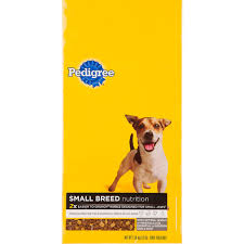 pedigree small breed dog food petco