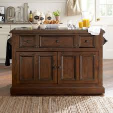 mahogany kitchen island buy mcalester kitchen island with granite top base finish rustic