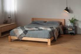 Floor Bed Frame Low Beds Modern Wooden Beds Bed Company