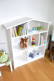 Childrens Bookcase White by
