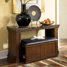 Table With Ottoman Underneath by Console Table With Stools Underneath Great Duo Knowledgebase