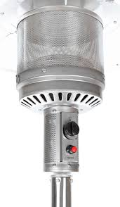 Stand Up Patio Heater by Stainless Steel Commercial Patio Heater Costco Com Exclusive