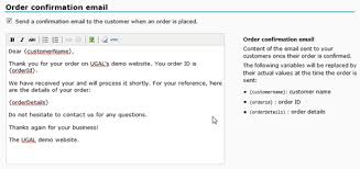 Order Confirmation Template by Automated Order Confirmation Emails Ugal