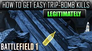 Challenge Kills Someone Battlefield 1 How To Get Easy Trip Wire Bomb Kills Mosin