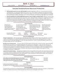 resume summary exles human resources hr assistant resume with no experience human resources assistant