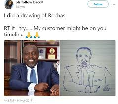 see the hilarious free sketch drawing a nigerian woman gave