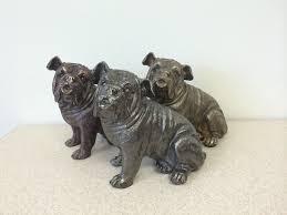 brass bulldog urn copper dog cat u0026 horse urns ceramic stone