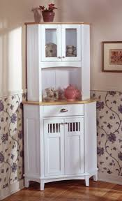 beautiful country kitchen corner cabinet eye catching blue and