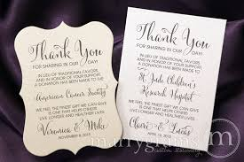 wedding gift donation to charity this custom wedding favors donation card is the way to
