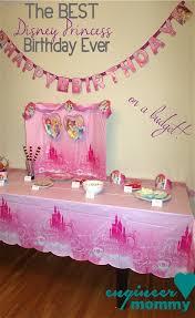 princess birthday party the best disney princess birthday on a budget