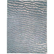 Fish Area Rug Blue Fish Skin Area Rug Silk And Wool Handwoven For Sale At 1stdibs