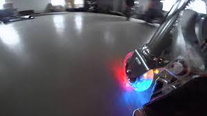 razor kick scooter light up wheels 98mm light up flash razor kick scooter wheel youtube