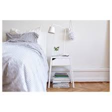 Ikea White Bedroom Side Tables Selje Bedside Table W Wireless Charging White 46x37 Cm Ikea