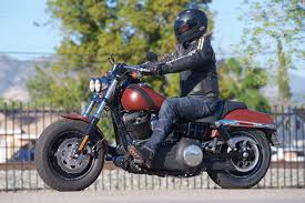 harley davidson riding boots 2017 harley davidson fat bob review muscular ride