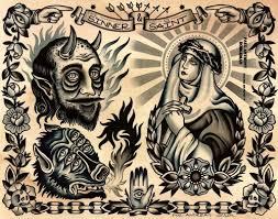 sinner and saints tattoo