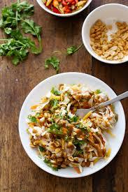 chopped thai chicken salad recipe pinch of yum