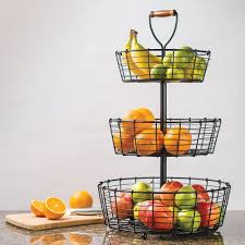 fruit basket stand countertop fruit basket irent everything