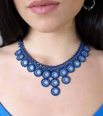 blue fashion necklace images High5humans fair trade handmade necklaces fashion a better jpg