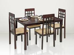 Dining Table With 4 Chairs Price Purchase Berlin 4 Seater Dining Table Online In Ranchi Surat