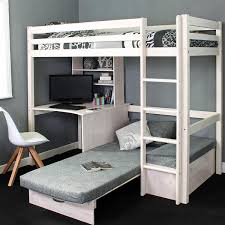 High Sleeper With Futon High Sleeper Loft Beds With Sofabed Futon Sofa Desk Storage