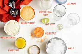 cocktail recipes vodka orange creamsicle cocktails the chic site
