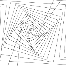 twisted coloring pages clipart