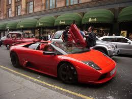 Lamborghini Murcielago Red - lamborghini murcielago roadster in london youtube