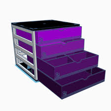 Modular Desk Organizer Free 3d Printer File Modular Desk Organizer Cults
