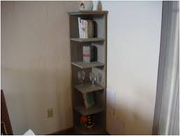 corner cabinet bookcase home design solid pine corner bookcase 2 4 metre tall