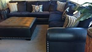 navy blue reclining sofa blue couches for sale new navy leather reclining sofa sectional with