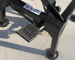 motocross bike stands pit posse com scissor lift stand dirt bike test