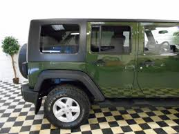 wrangler jeep green second hand jeep wrangler unlimited 3 8i v6 sport auto for sale in