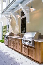 Outdoor Kitchen Cabinets 95 Cool Outdoor Kitchen Designs Digsdigs