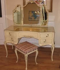 Vintage Style Vanity Table Antique Vanity With Mirror Value Montserrat Home Design