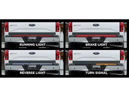 led backup light bar putco switchblade led tailgate light bars sharptruck com