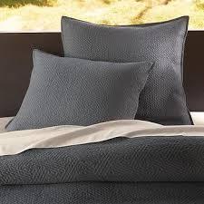 organic braided matelasse beige duvet cover and shams