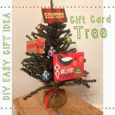 gift card tree last minute gift idea gift card tree the chirping