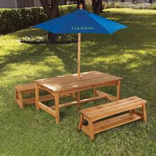 wooden childrens picnic table umbrella for kids picnic table deboto home design best kids