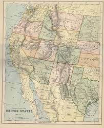 Google Map Of United States by Western United States Public Domain Maps By Pat The Free Open