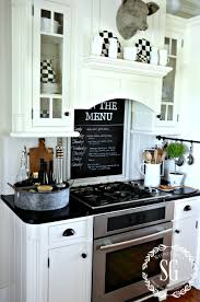 Farmhouse Cabinets For Kitchen Farmhouse Kitchen Farmhouse Kitchens Kitchen Chalkboard And