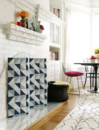 10 ideas to diy your own fireplace screen u2013 home info