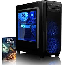 pc de bureau gaming vibox kaleidos gs760 13 pc gamer 4 2ghz intel i7 cpu